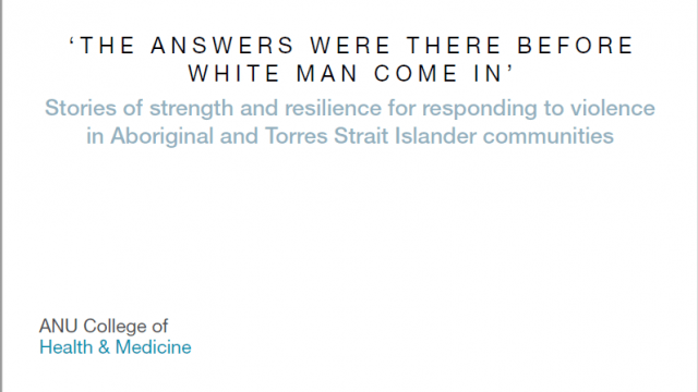 THE ANSWERS WERE THERE BEFORE WHITE MAN COME IN