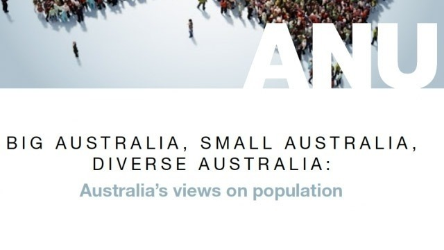 NEW ANU Poll: Australia's views on population