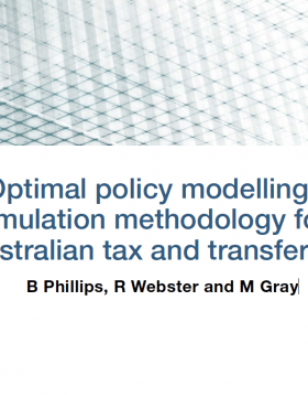 NEW CSRM Working Paper: B Phillips, R Webster and M Gray