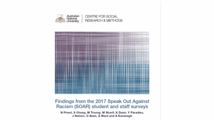 Findings from the 2017 Speak Out Against Racism (SOAR) student and staff surveys