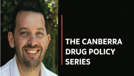 Pills, Powder and Smoke, in collaboration with the Canberra Drug Policy Series