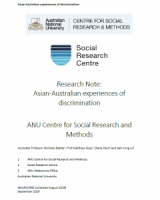 Research Note: Asian-Australian experiences of discrimination