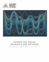 CSRM Biennial Report 2015 & 2016