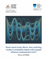 Panel mixed-mode effects: does switching modes in probability-based online panels influence measurement error?