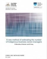A new method of estimating the number of Indigenous business owner-managers