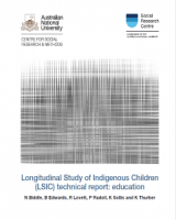Longitudinal Study of Indigenous Children (LSIC) technical report: education