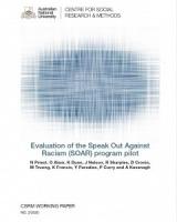 Evaluation of the Speak Out Against Racism (SOAR) program pilot