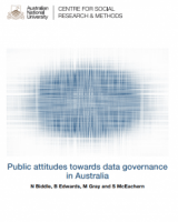 Public attitudes towards data governance in Australia