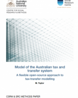 Model of the Australian tax and transfer system: A flexible open-source approach to tax-transfer modelling